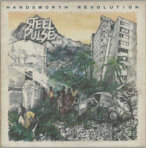 Steel Pulse Handsworth Revolution - 1st vinyl LP album (LP record) UK SP4LPHA658228