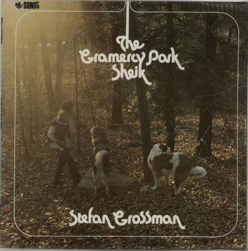 Stefan Grossman The Gramercy Park Sheik vinyl LP album (LP record) UK S07LPTH655647