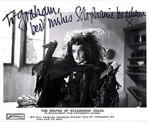 Stephanie Beacham The Wolves Of Willoughby Chase - Signed photograph UK SB2PHTH260452