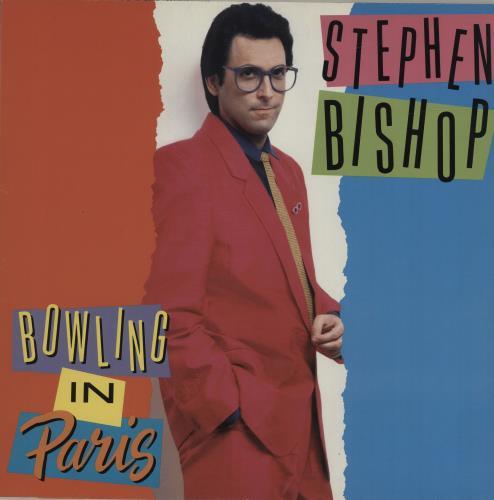 Stephen Bishop Bowling In Paris vinyl LP album (LP record) German SBILPBO680989