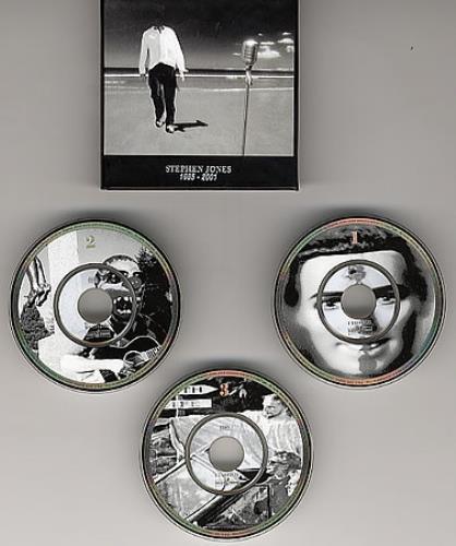 """Stephen Jones Stephen Jones 1985 - 2001 3"""" CD single (CD3) UK SEJC3ST300556"""