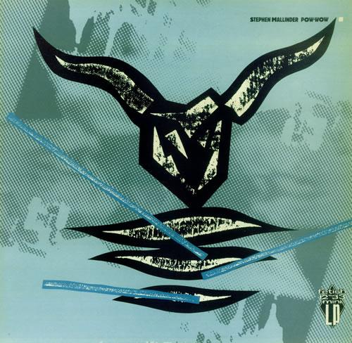 "Stephen Mallinder Pow Wow 12"" vinyl single (12 inch record / Maxi-single) UK PHD12PO444653"