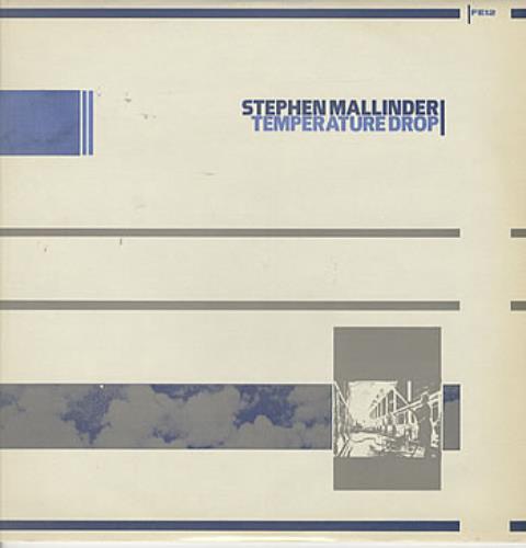 "Stephen Mallinder Temperature Drop 12"" vinyl single (12 inch record / Maxi-single) UK PHD12TE214770"