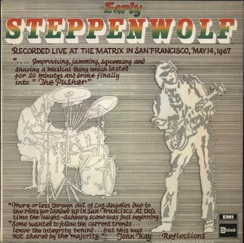 Steppenwolf Early Steppenwolf vinyl LP album (LP record) UK SPPLPEA724692