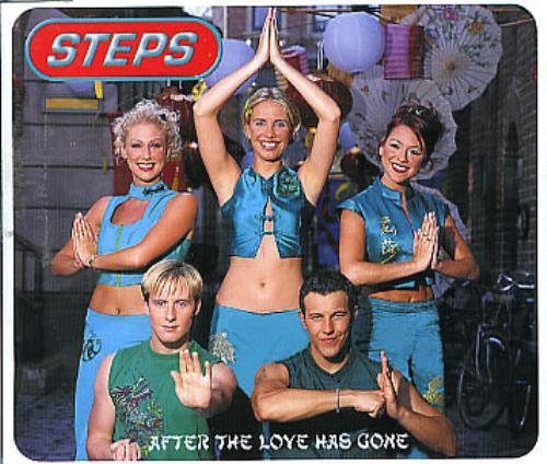 """Steps After The Love Has Gone CD single (CD5 / 5"""") European EPSC5AF153828"""