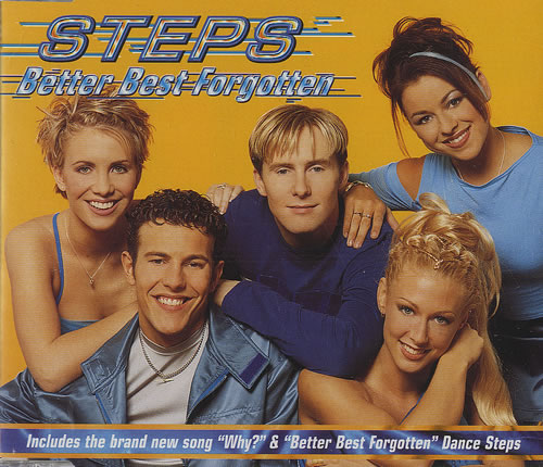 "Steps Better Best Forgotten CD single (CD5 / 5"") UK EPSC5BE171611"
