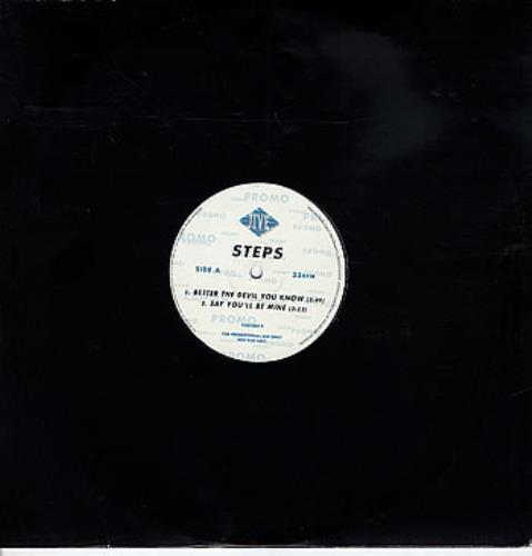 """Steps Better The Devil You Know 12"""" vinyl single (12 inch record / Maxi-single) UK EPS12BE150713"""
