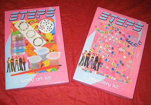 Steps Body Art  & Jewellery Kit memorabilia UK EPSMMBO339239