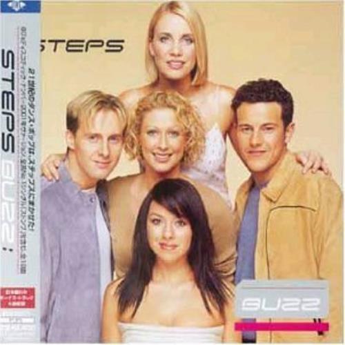 Steps Buzz CD album (CDLP) Japanese EPSCDBU183350