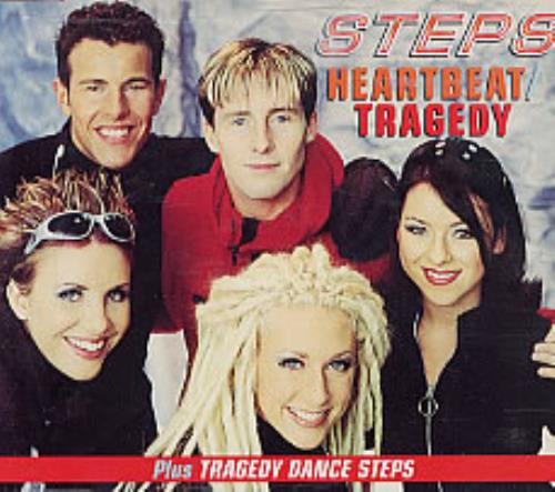 "Steps Heartbeat CD single (CD5 / 5"") UK EPSC5HE132872"