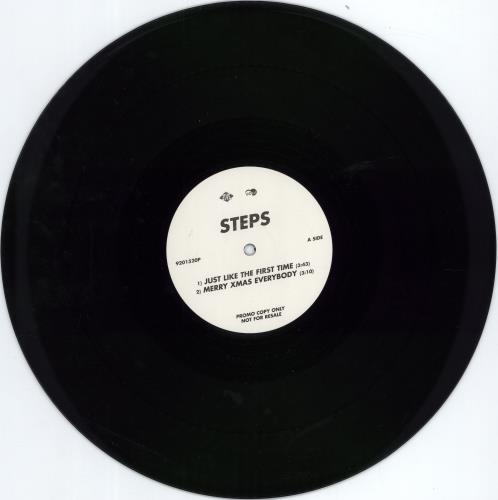 """Steps Just Like The First Time 12"""" vinyl single (12 inch record / Maxi-single) UK EPS12JU230893"""