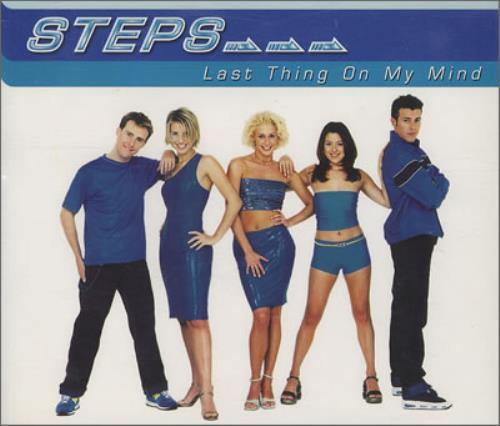 "Steps Last Thing On My Mind CD single (CD5 / 5"") UK EPSC5LA115008"