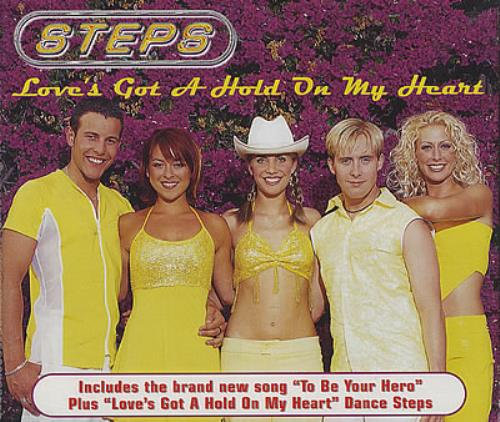 "Steps Love's Got A Hold On My Heart CD single (CD5 / 5"") European EPSC5LO237339"