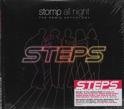 Steps Stomp All Night: The Remix Anthology - Sealed 3-CD album set (Triple CD) UK EPS3CST653442