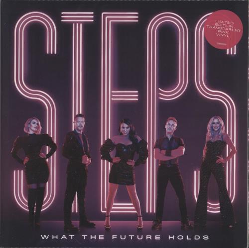 Steps What The Future Holds - Pink vinyl - sealed vinyl LP album (LP record) UK EPSLPWH766292
