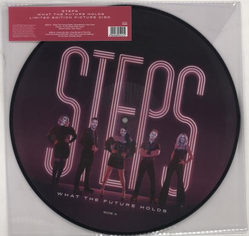 Steps What The Future Holds picture disc LP (vinyl picture disc album) UK EPSPDWH766290