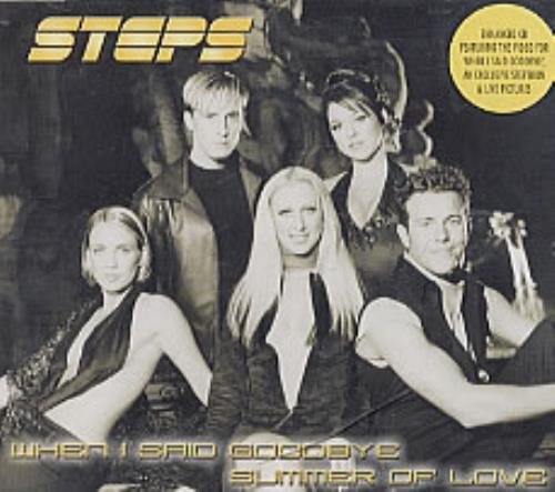 "Steps When I Said Goodbye/Summer Of Love CD single (CD5 / 5"") European EPSC5WH163866"