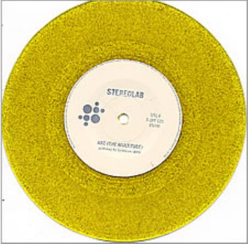 Stereolab Abc Yellow Glitter Vinyl Uk 7 Quot Vinyl Single 7