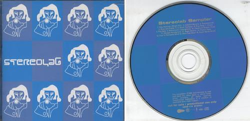 Stereolab Stereolab Sampler CD album (CDLP) Japanese STBCDST347365