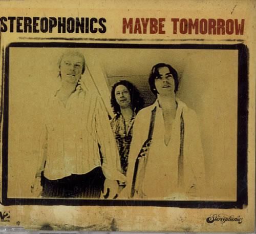 "Stereophonics Maybe Tomorrow CD single (CD5 / 5"") UK OPHC5MA478198"