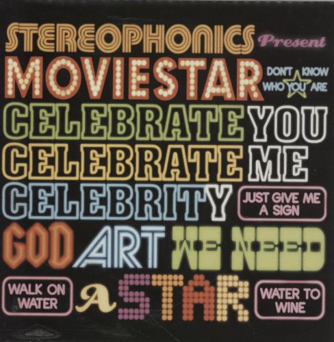 "Stereophonics Moviestar 7"" vinyl single (7 inch record) UK OPH07MO272662"