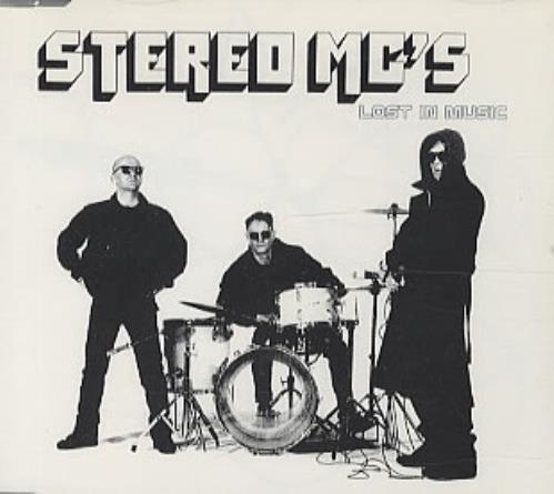 """Stereo MCs Lost In Music CD single (CD5 / 5"""") UK SMCC5LO161176"""