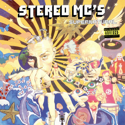 Stereo MCs Supernatural vinyl LP album (LP record) UK SMCLPSU463418
