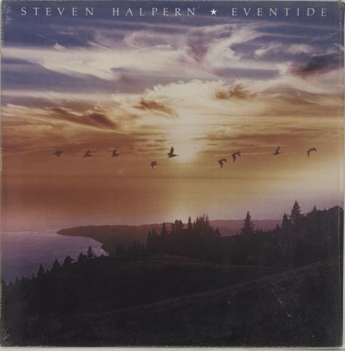 Steven Halpern Eventide vinyl LP album (LP record) US XVJLPEV690536