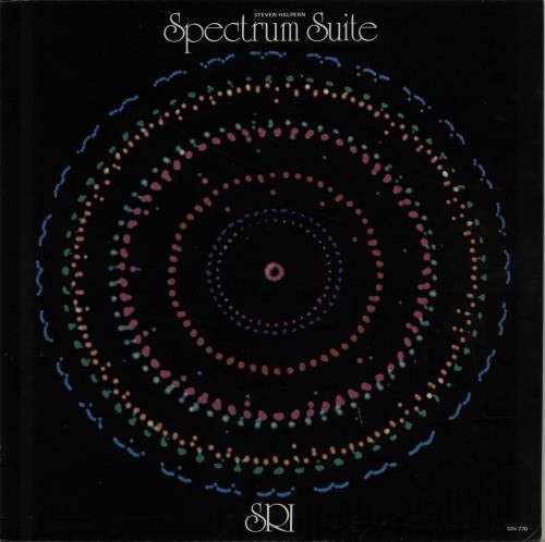 Steven Halpern Spectrum Suite vinyl LP album (LP record) US XVJLPSP647598