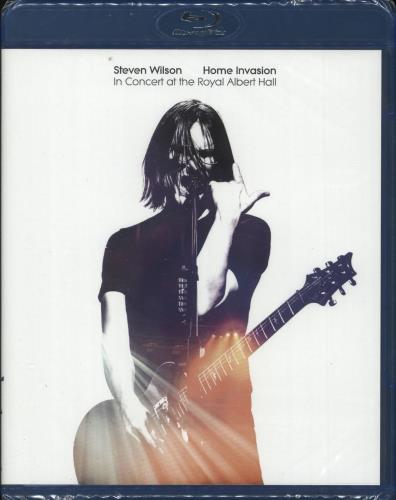 Steven Wilson Home Invasion: In Concert At The Royal Albert Hall - Sealed Blu Ray DVD UK SXWBRHO729605
