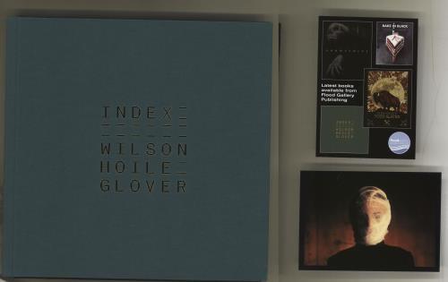 Steven Wilson Index - The Art Of Steven Wilson's Music + Signed Postcard book UK SXWBKIN714888