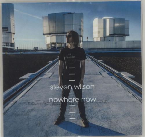 Steven Wilson Nowhere Now CD-R acetate UK SXWCRNO685777