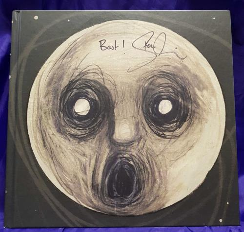 Steven Wilson The Raven That Refused To Sing - Autographed CD Album Box Set UK SXWDXTH714897
