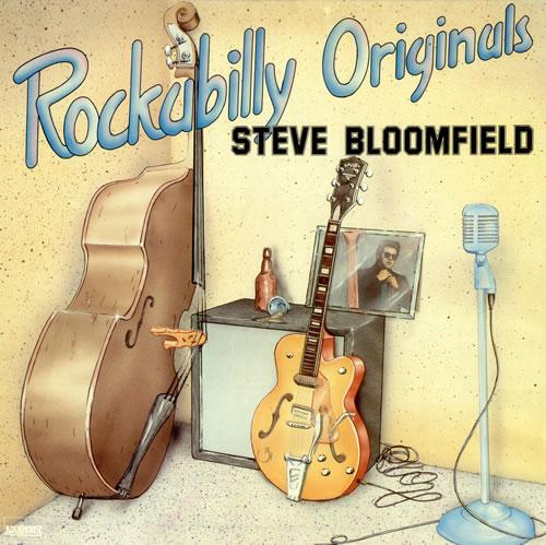 Steve Bloomfield Rockabilly Originals vinyl LP album (LP record) Dutch 5SBLPRO494809