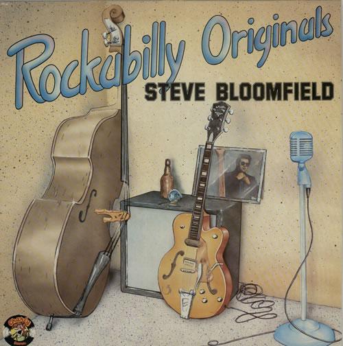 Steve Bloomfield Rockabilly Originals vinyl LP album (LP record) UK 5SBLPRO624922