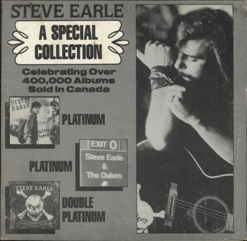 Steve Earle A Special Collection CD album (CDLP) Canadian EALCDAS424347