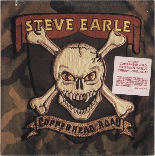 Steve Earle Copperhead Road vinyl LP album (LP record) US EALLPCO397857
