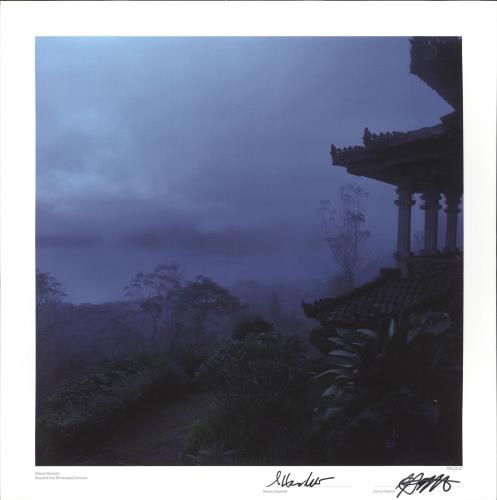 Steve Hackett Beyond The Shrouded Horizon - Signed Print poster UK SVEPOBE730048