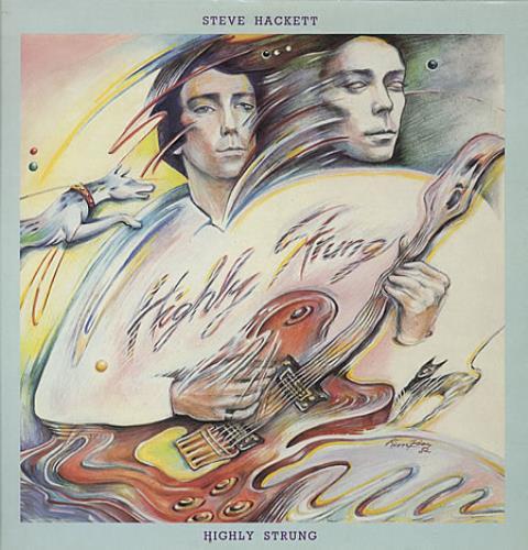 Steve Hackett Highly Strung vinyl LP album (LP record) UK SVELPHI330561