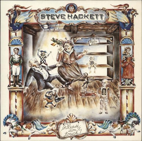 Steve Hackett Please Don T Touch Uk Vinyl Lp Album Lp