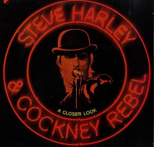 Steve Harley & Cockney Rebel A Closer Look vinyl LP album (LP record) US SHYLPAC228753