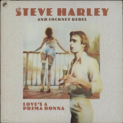 Steve Harley & Cockney Rebel Love's A Prima Donna vinyl LP album (LP record) US SHYLPLO673727