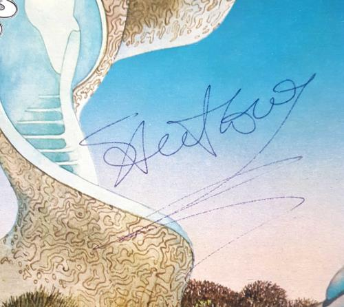 Steve Howe Beginnings - Autographed vinyl LP album (LP record) UK SVHLPBE700952