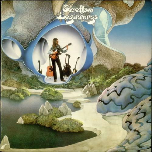 Steve Howe Beginnings vinyl LP album (LP record) UK SVHLPBE541455