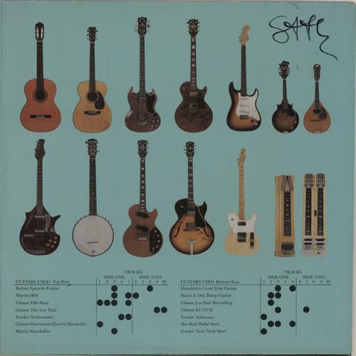 Steve Howe The Steve Howe Album - Autographed vinyl LP album (LP record) US SVHLPTH622179