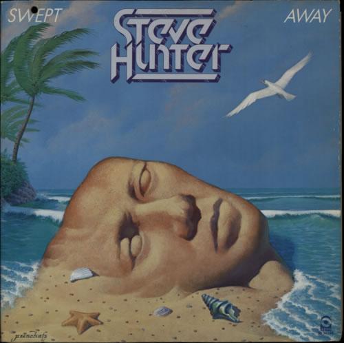 Steve Hunter Swept Away vinyl LP album (LP record) US V4WLPSW587207
