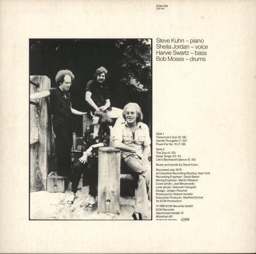 Steve Kuhn Playground vinyl LP album (LP record) German YSYLPPL693891