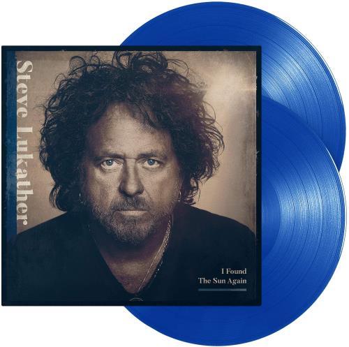 Steve Lukather I Found The Sun Again - Blue Vinyl - Sealed 2-LP vinyl record set (Double Album) UK SLU2LIF764329
