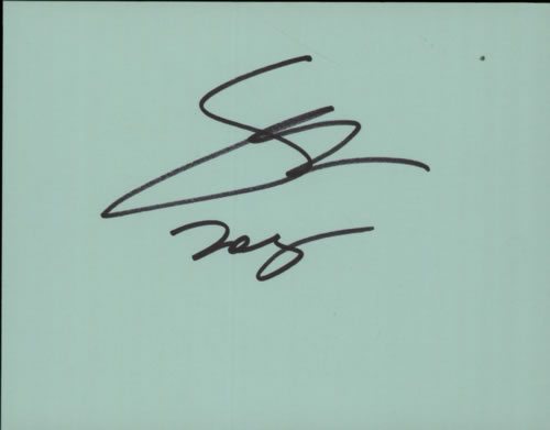Steve Lukather Pages From An Autograph Book memorabilia UK SLUMMPA601738