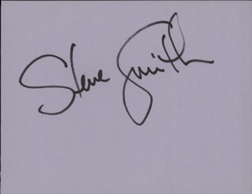 Steve Smith (Journey) Page From An Autograph Book memorabilia UK WVUMMPA608913